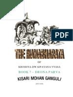 Mahabharata Book 7 Drona Parva