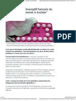 le modèle contraceptif
