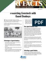 Protecting Livestock With Guard Donkeys, Govt. of Alberta