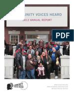 CVH Annual Report 2012