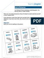 Dominoes Words Pictures - Learn English