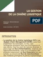 La gestion de la chaîne logistique