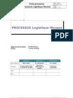 Processus Logistique Mousse Flux