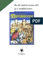 Carcassonne Compendio Reglamentos