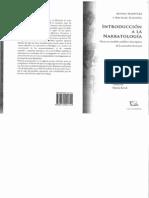 Introduccion de la Narrotologia. Martínez, Scheffel