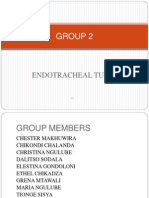 GROUP 2.Endotracheal Final 12 April