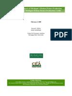 Film Incentive Plan Assessment