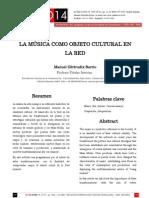 Actas SIC08 - La música como objeto cultural en la Red