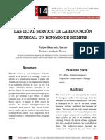 Actas SIC08 - Las TIC al servicio de la educación musical