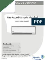 Manual de Usuario AIRE YORK