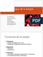 Fisiología de la sangre. Anemias