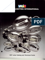 Venture Lighting Lamp Catalog 1987