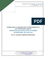Manual Para Organizacion y Funcionamiento Lab Clinicos
