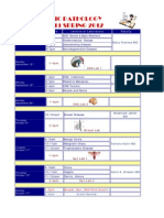 Med 5 Schedule Path Fall 2011-Spring 2012