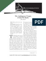Alan Jacobs - The Ambiguous Utopia of Iain M. Banks
