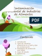 Contaminación  Ambiental de Industrias de Alimentos