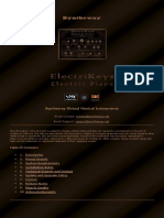 ElectriKeys Electric Piano (Rhodes, Wurlitzer, Hohner Clavinet D6, Yamaha CP70) Software