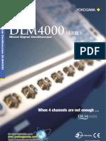 Yokogawa Osciloscopio DLM4000 Bulletin Final