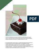 Receta de Ina Exquisita Torta de Chocolate