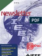 Newsletter IEEE PERU 08 2011