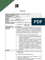 Aplicacion Interpretacion Pruebas Psicologicas