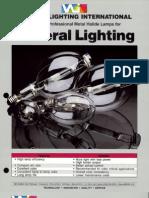 Venture Lighting Metal Halide Lamp Bulletin
