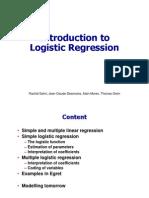 Regression Logistic Regression