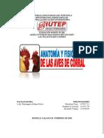 MORFOLOGÍA Y FISIOLOGÍA DE LAS AVES (CÉSAR MENDOZA)