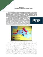 Los Cambios Sociales en la República Romana Tardía