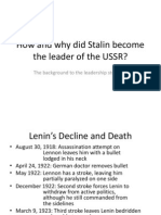 t9 rise of stalin ppt