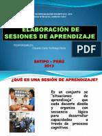 Sesion de Aprendizaje-primaria111