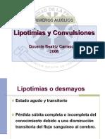 Lipotimias--Convulsiones