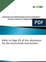Design Implement Evaluation