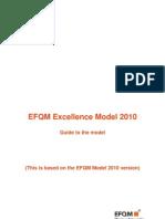 EFQM Excellence Model Guide 2010