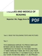Theories and Models of Reading