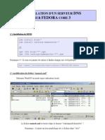 Installation DNS Fed3