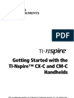 TI-Nspire CX-C CM-C GettingStarted En