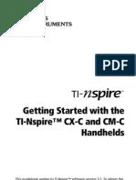 TI-Nspire CX-C CM-C GettingStarted En