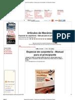 Especial de carpintería - Manual para el principiante - Mi Mecánica Popular.pdf