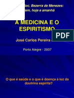 Medicina e o Espiritismo