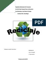 El Reciclaje en Venezuela