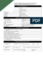 PE ASME Boiler Initial Report NB-405