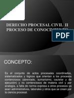 Derecho Pocesal Civil II