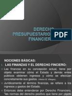 Derecho Presupuestario y Financiero
