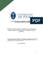Existencia y causas de los efectos estacionales en los mercados de renta variable, renta fija y de dinero en el Perú-Un enfoque de modelos asimétricos