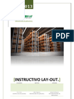Instructivo Levantamiento de Lay-Out