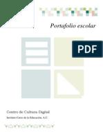 Manual Usuario Portafolio Escolar