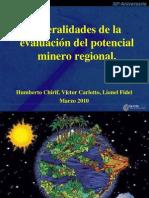 Evaluacion Del Potencial Minero