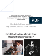 Clase Ecologia Salud 3 Ingenieria Ambiental