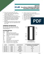 Datasheet DS1216 DALLAS